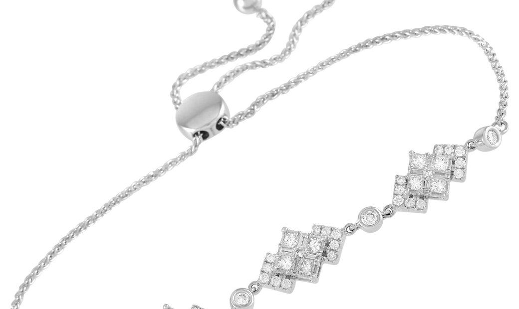 LB Exclusive LB Exclusive 14K White Gold 1.00 ct Diamond Bracelet