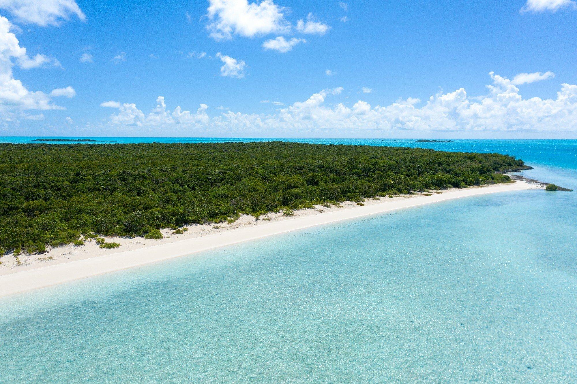 Частный остров в Хаммингберд Кей, Эксума, Багамы 1 - 11176407
