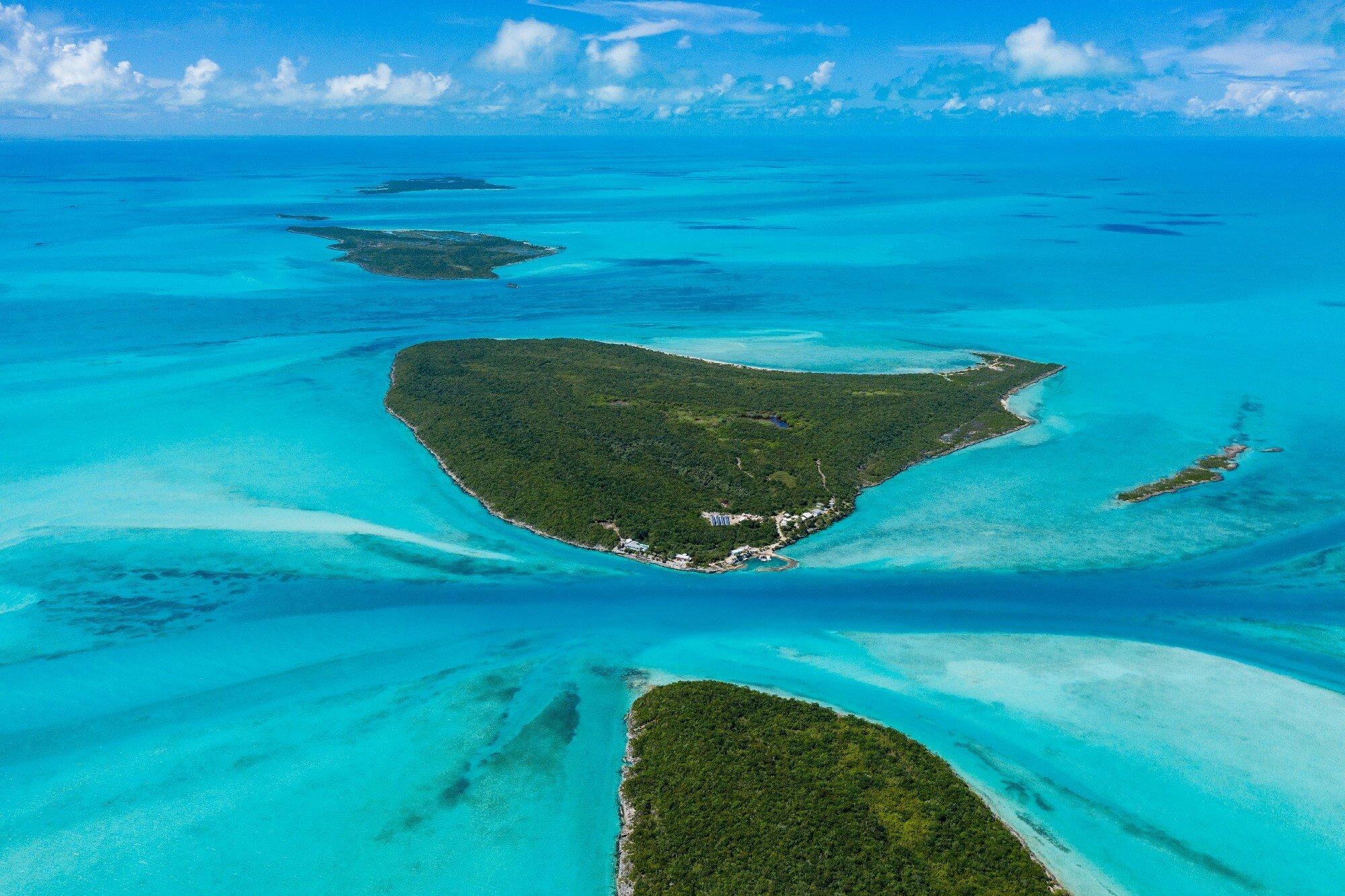 Private Island in Hummingbird Cay, Exuma, The Bahamas 1