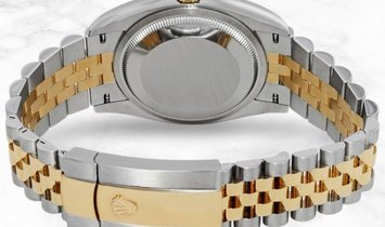 Rolex Datejust 36 126283RBR-0017 Oystersteel and Yellow Gold Silver Dial Roman Numerals