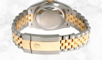 Rolex Datejust 36 126233-0031 Oystersteel and Yellow Gold Diamond Set Silver Dial Roman Numerals