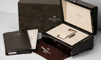 Patek Philippe Nautilus Sealed Rose Gold Chronograph Watch 5980/1R-001