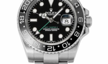 Rolex GMT-Master II 116710LN, Baton, 2014, Very Good, Case material Steel, Bracelet mat