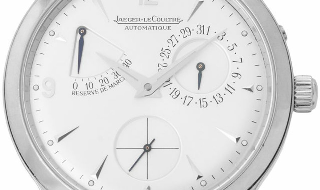 Jaeger-LeCoultre Master Reserve De Marche 140.8.93, Arabic Numerals, 2000, Very Good, C