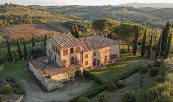 Farm Ranch in Montespertoli, Tuscany, Italy 1