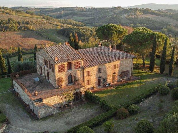 Country House in Montespertoli, Tuscany, Italy 1