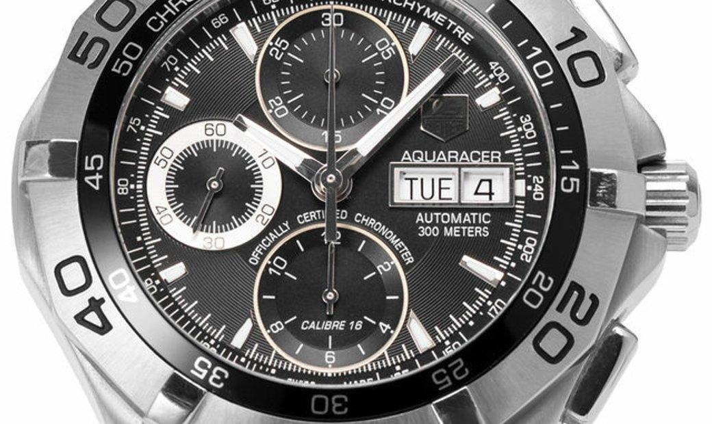 TAG Heuer Aquaracer CAF5010.BA0815, Baton, 2010, Very Good, Case material Steel, Bracel