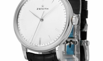 Zenith Elite 6150 03.2270.6150/01.C493, Baton, 2020, Very Good, Case material Steel, Br