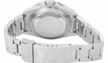 Rolex Submariner 16610LV Fat Four, Baton, 2005, Very Good, Case material Steel, Bracele