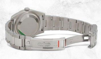 Rolex Datejust 36 126284RBR-0012 White Rolesor Diamond Set White MOP Dial Diamond Bezel