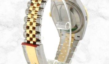 Rolex Datejust 36 126283RBR-0013 Yellow Rolesor Silver Jubilee Dial Diamond Set Bezel