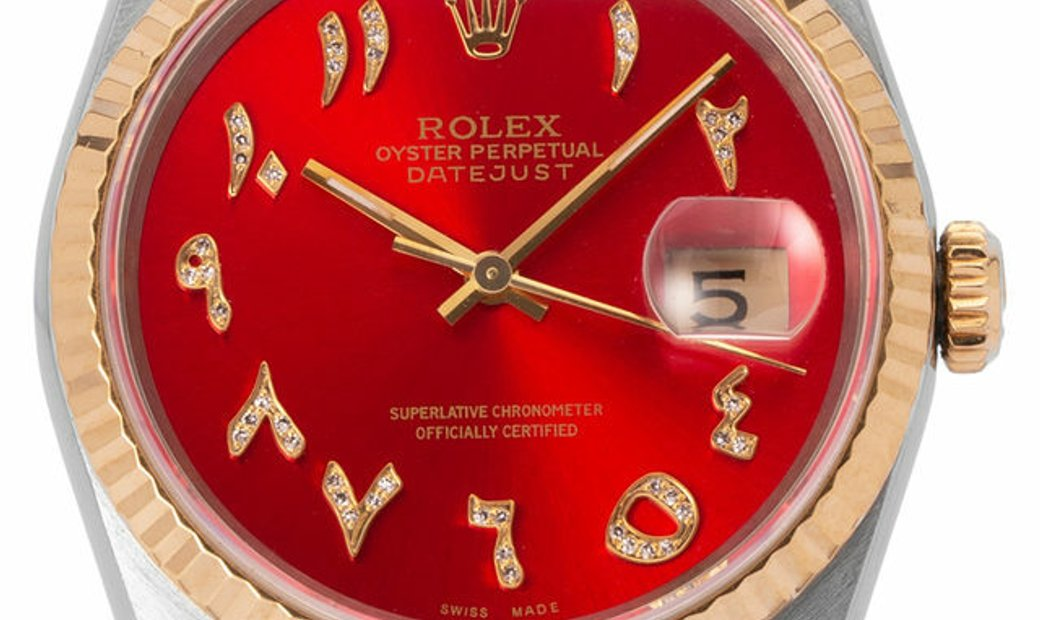 Rolex Datejust 16233, Gemstone, 1991, Good, Case material Steel, Bracelet material: Ste