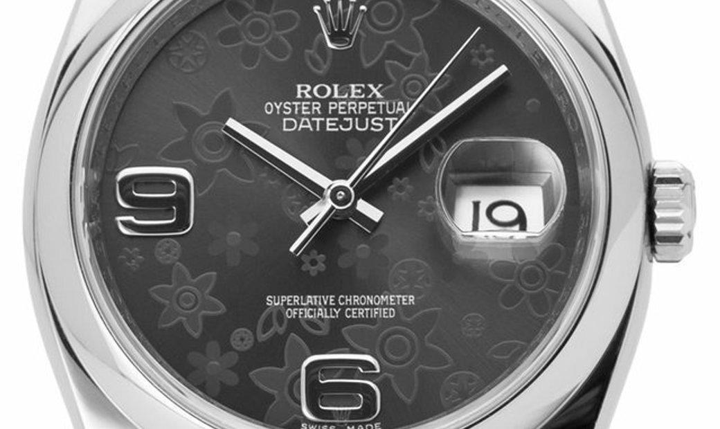 Rolex Datejust 116200, Arabic Numerals, 2013, Very Good, Case material Steel, Bracelet