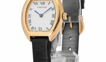 Cartier Tortue 1945, Roman Numerals, 1985, Very Good, Case material Yellow Gold, Bracel