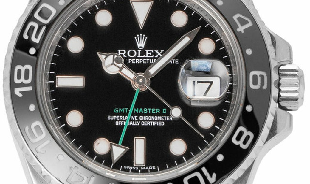 Rolex GMT-Master II 116710LN, Baton, 2008, Good, Case material Steel, Bracelet material