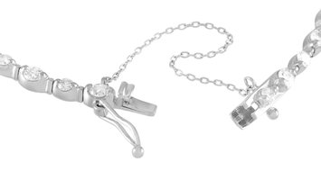 LB Exclusive LB Exclusive 18K White Gold 1.30 ct Diamond Bracelet