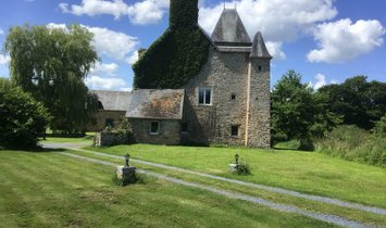 Chateau in Le Hommet-d'Arthenay, Normandie, Frankreich 1