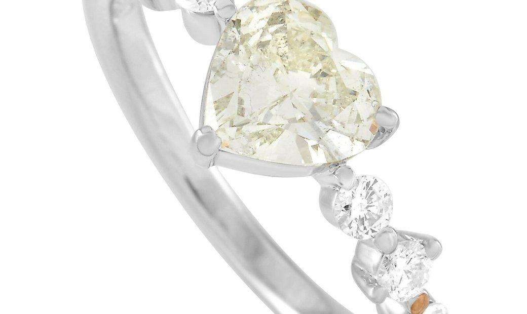 LB Exclusive LB Exclusive Platinum 1.32 ct Diamond Ring