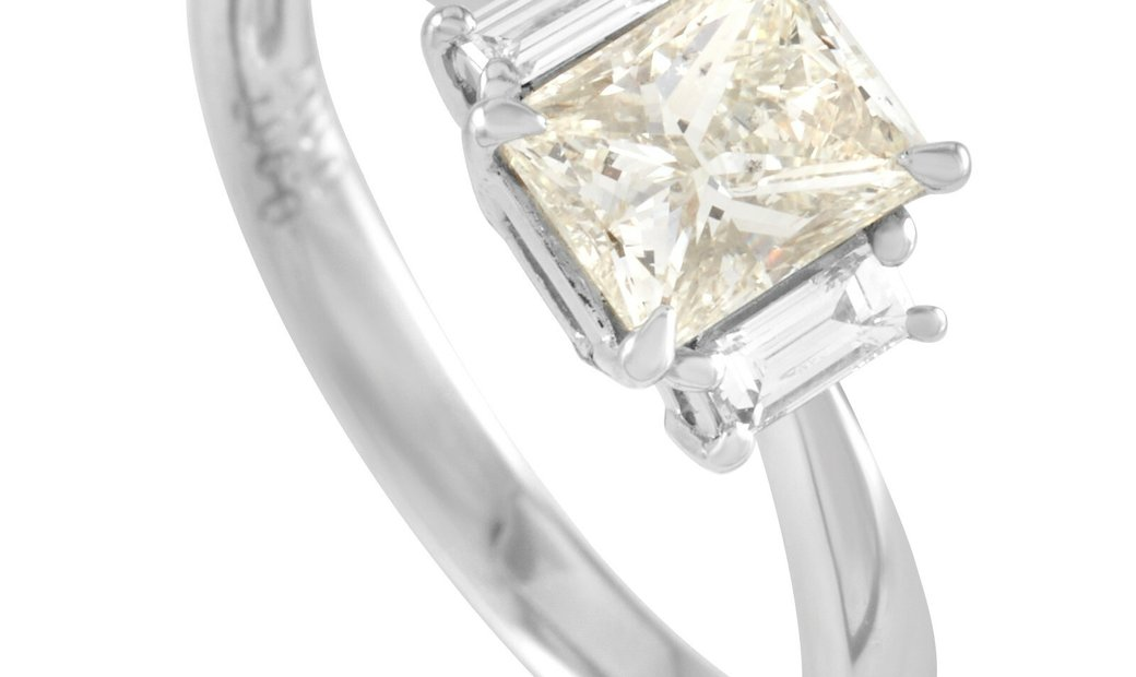 LB Exclusive LB Exclusive Platinum 1.07 ct Diamond Ring