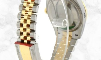 Rolex Datejust 36 126283RBR-0009 Oystersteel and Yellow Gold Diamond Set White Mother of Pearl Dial