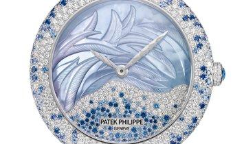 PATEK PHILIPPE CALATRAVA HAUTE JOAILLERIE 18K WHITE GOLD LADIES WATCH Ref. 4899-901G-001