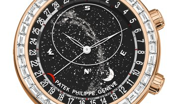 PATEK PHILIPPE GRAND COMPLICATIONS CELESTIAL 18K ROSE GOLD MEN'S WATCH Ref. 6104R-001