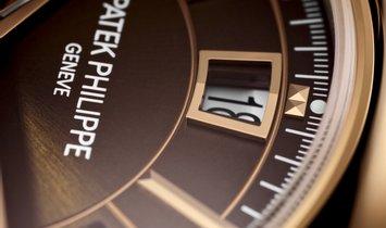 PATEK PHILIPPE COMPLICATIONS CHRONOGRAPH 18K ROSE GOLD MEN'S WATCH Ref. 5905R-001