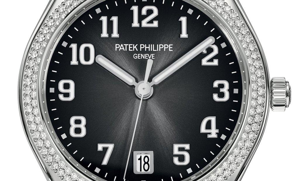 PATEK PHILIPPE TWENTY~4 STAINLESS STEEL LADIES WATCH Ref. 7300/1200A-010