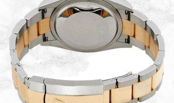 Rolex Datejust 36 126233-0028 Yellow Rolesor Diamond Set Silver Jubilee Dial Oyster Bracelet