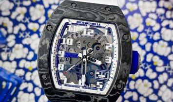 Richard Mille [2017 MINT][LIMITED 50 PIECE] RM 029 Japan Blue NTPT Watch