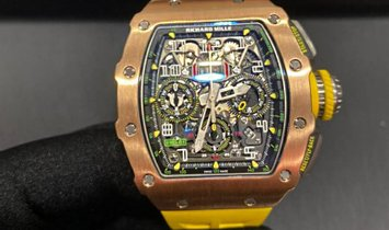 Richard Mille [2017 MINT] RM 11-03 Rose Gold & Titanium Automatic Flyback Chronograph