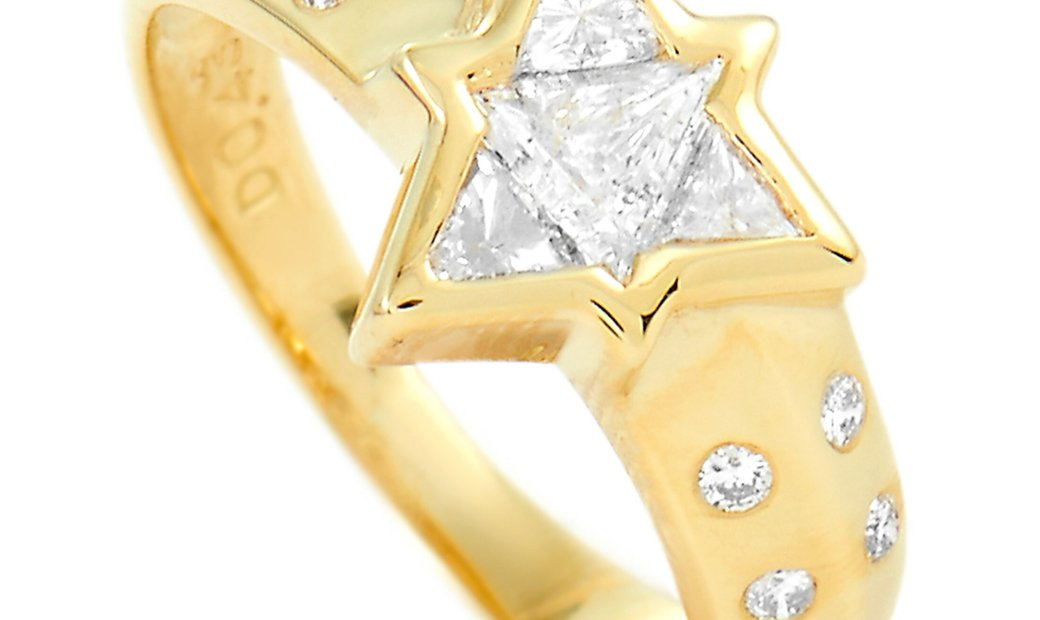 LB Exclusive LB Exclusive 18K Yellow Gold 0.43 ct Diamond Ring