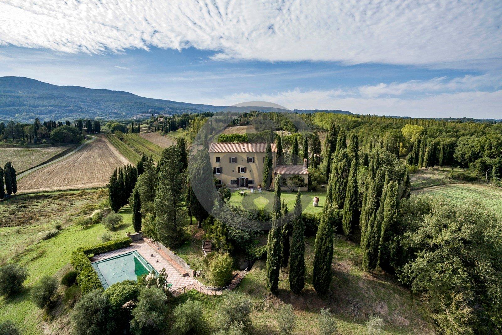 Villa in Cetona, Tuscany, Italy 1