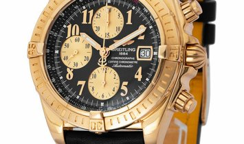 Breitling Chronomat Evolution K13356, Arabic Numerals, 2008, Very Good, Case material Y