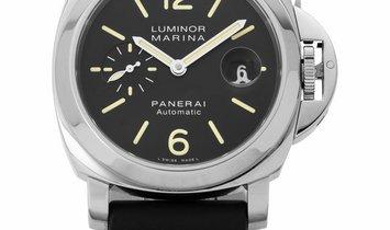 Panerai Luminor Marina PAM00104, Baton, 2015, Very Good, Case material Steel, Bracelet