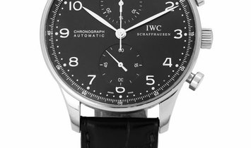 IWC Portugieser Chronograph IW371438, Arabic Numerals, 2012, Very Good, Case material S