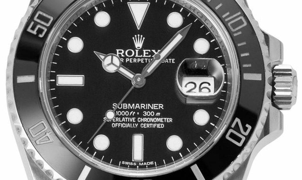Rolex Submariner 116610LN, Baton, 2013, Good, Case material Steel, Bracelet material: S