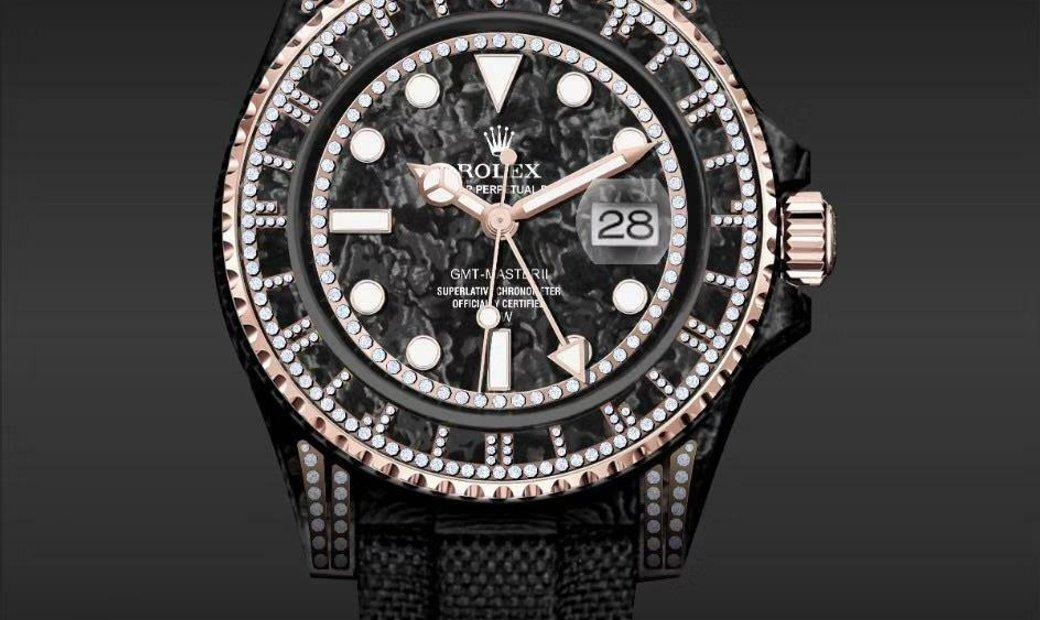 """Rolex DiW Carbon GMT-Master II """"SIRIUS"""" (Retail: US$51,990)"""