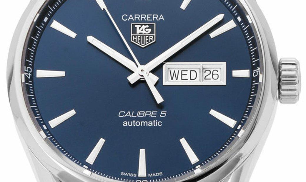 TAG Heuer Carrera WAR201E.FC6292, Baton, 2017, Very Good, Case material Steel, Bracelet