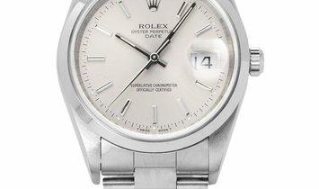 Rolex Oyster Perpetual Date 15200, Baton, 1998, Very Good, Case material Steel, Bracele