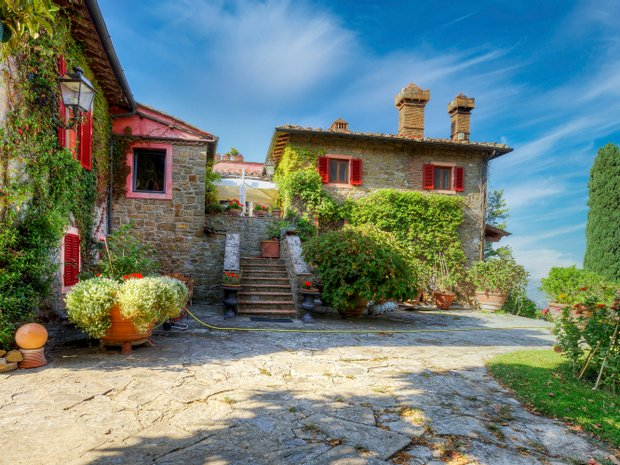 Country House in Greve in Chianti, Tuscany, Italy 1