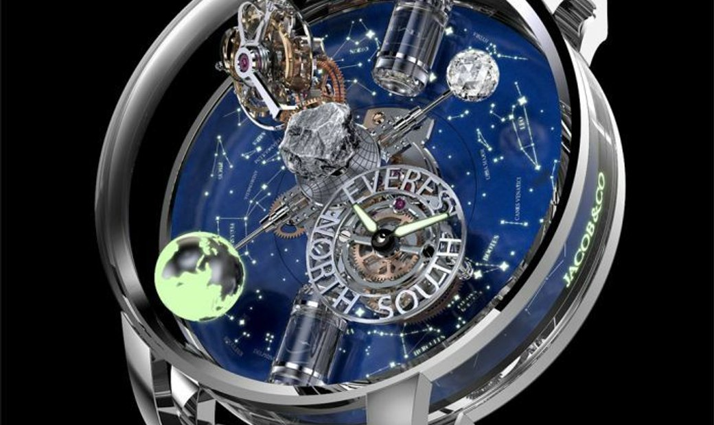 Jacob & Co. 捷克豹 [NEW MODEL] Astronomia Everest White Gold AT112.30.AA.AA.ABRUA