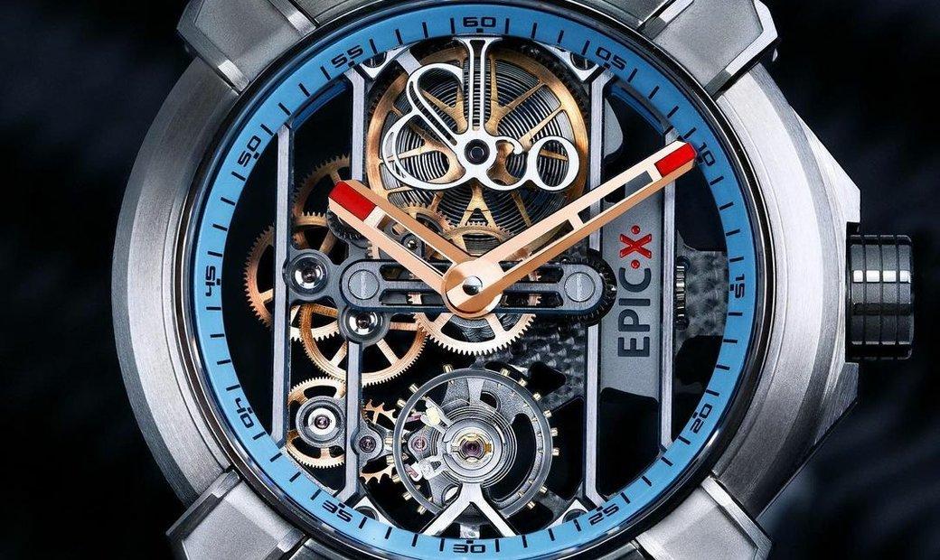 Jacob & Co. 捷克豹 [NEW MODEL] EPIC-X Turquoise Titanium