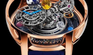 Jacob & Co. 捷克豹 [LIMITED 18 PIECE] Astronomia Typhoon Tourbillon AT103.40.AA.AA.A