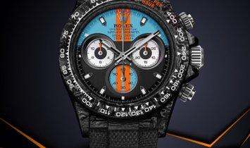 "Rolex DiW [NEW] NTPT Carbon Daytona ""MONACO"" (Retail: US$55,500)"