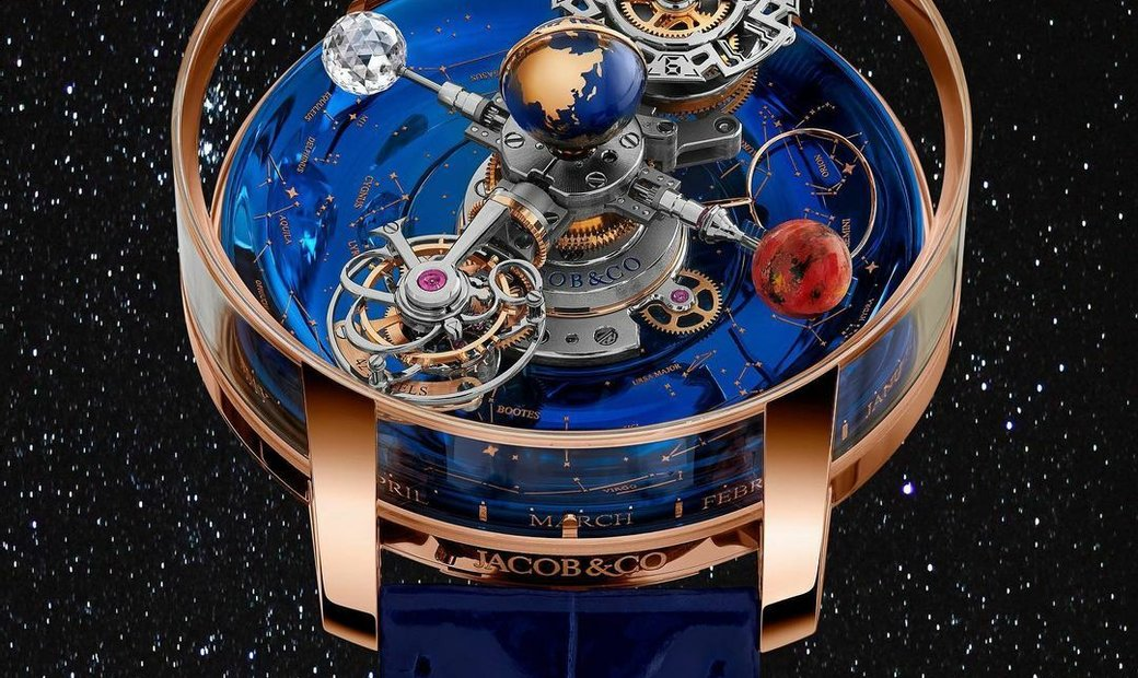 Jacob & Co. 捷克豹 [NEW] Astronomia Sky RG AT110.40.AA.SD.A (Retail:HK$5,104,000)