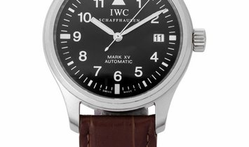 IWC Mark XV IW325301, Arabic Numerals, 2000, Good, Case material Steel, Bracelet materi