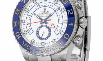 Rolex Yacht-Master II 116680, Baton, 2013, Good, Case material Steel, Bracelet material