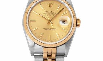 Rolex Datejust 16233, Baton, 1991, Very Good, Case material Steel, Bracelet material: S