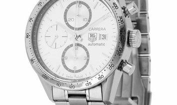 TAG Heuer Carrera CV2017.BA0786, Baton, 2013, Good, Case material Steel, Bracelet mater